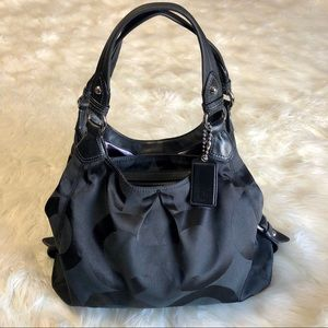 Coach Op Art Maggie Hobo